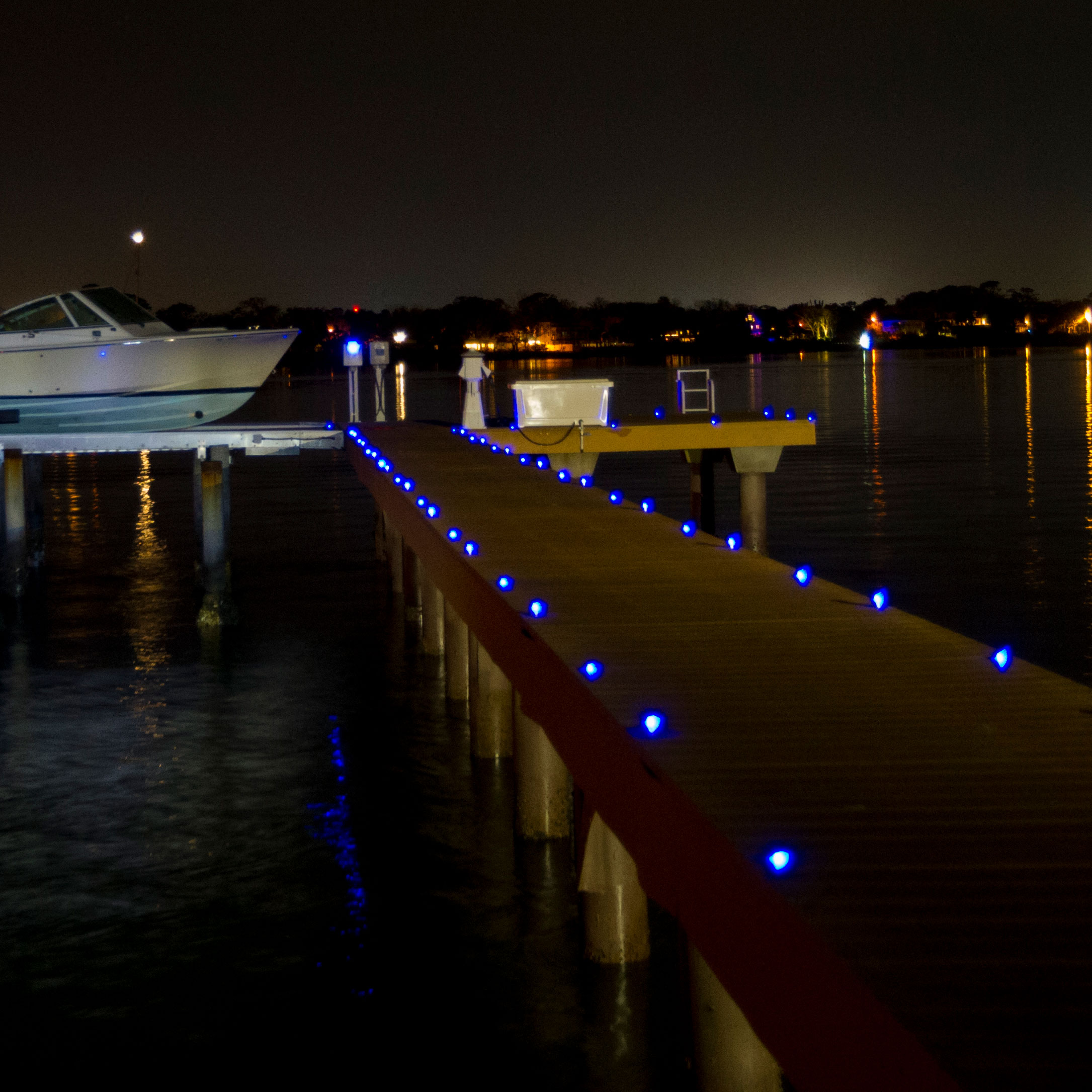 Led Solar Pathway Lighting Way Marine